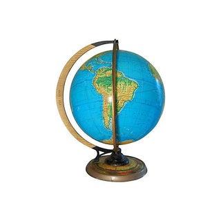 1936 Vintage World Globe