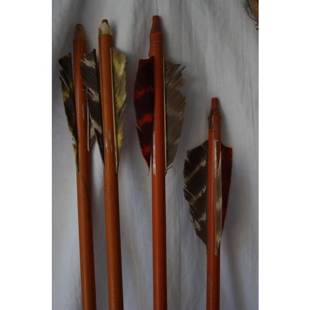 Image of Vintage Toy Bow & Arrows Set
