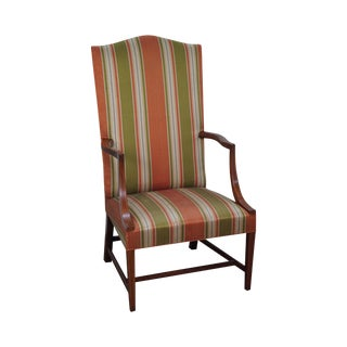 Kittinger Colonial Williamsburg Mahogany Inlaid Lolling Chair (CW-13)