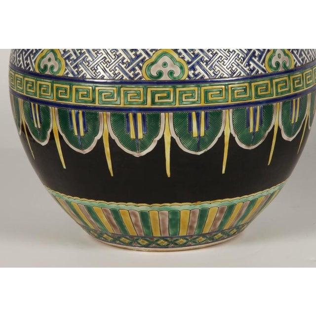 Pair of Famile Verte Art Deco Vases - Image 8 of 10