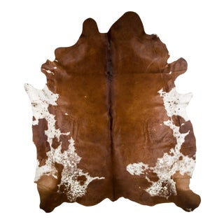 """Luxury Cowhide Rug, Ethically Sourced, Handmade, European Import, 7'0""""x7'3"""""""