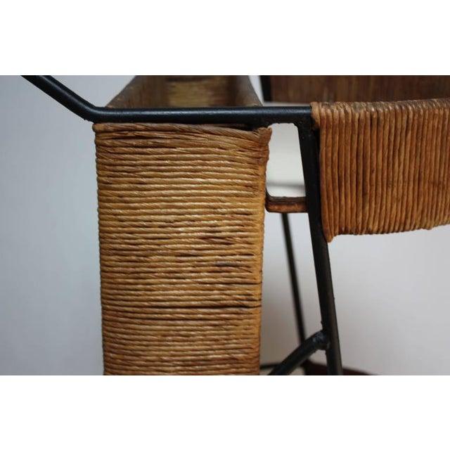 Arthur Umanoff Two-Tier Bar Cart - Image 4 of 10