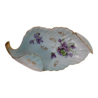 Antique Porcelain Trinket Dish