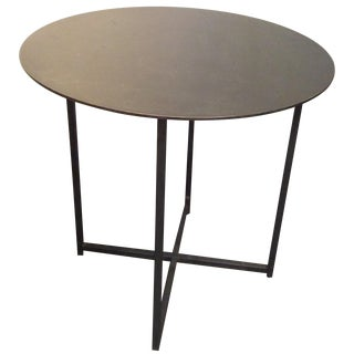 Contemporary Metal Side Table
