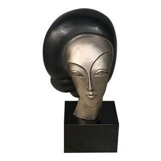 Austin Woman's Head Statue