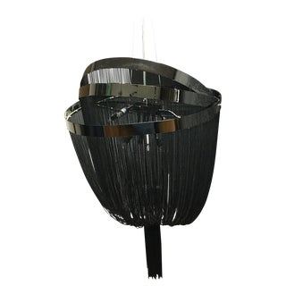 Et2 Eight-Light Black Chrome Pendant Ceiling Light