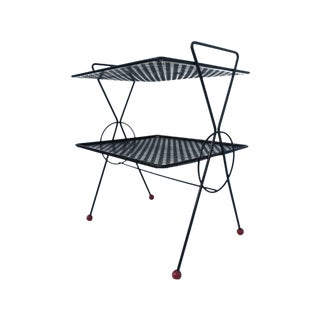 Tony Paul Perforated Steel Magazine Stand