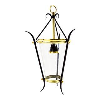 Mid Century French Hanging Lantern