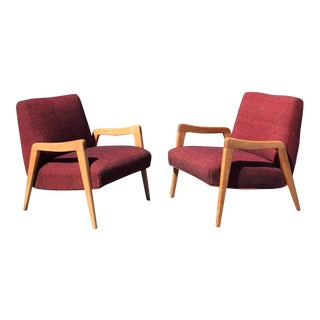 Russel Wright Conant Ball Lounge Chairs - Pair