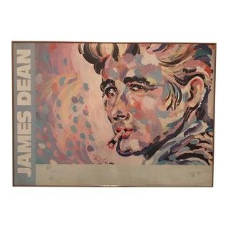 James Dean Modern Print