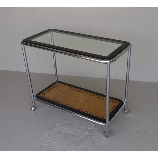Image of European Mid-Century Tea Cart