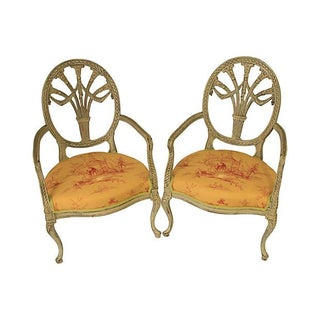 French Style Fauteuils - A Pair