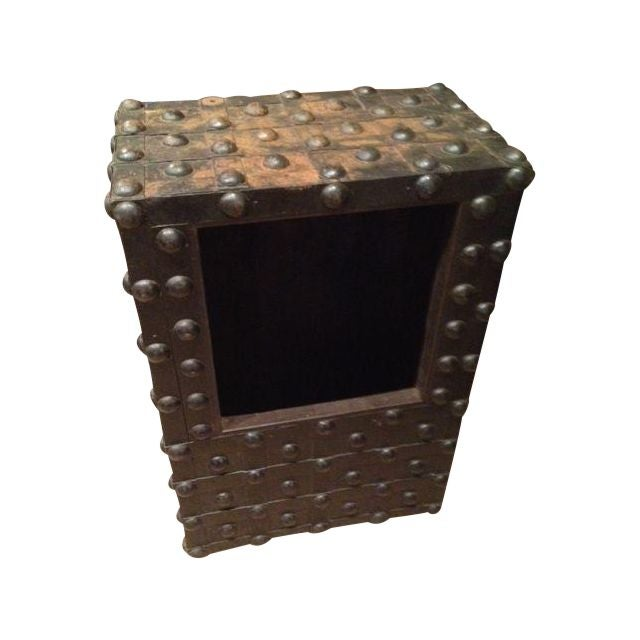 Industrial Era Old Safe Coffee Table - Image 1 of 3