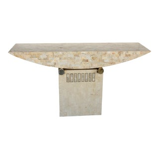 Postmodern Geometric Console Table