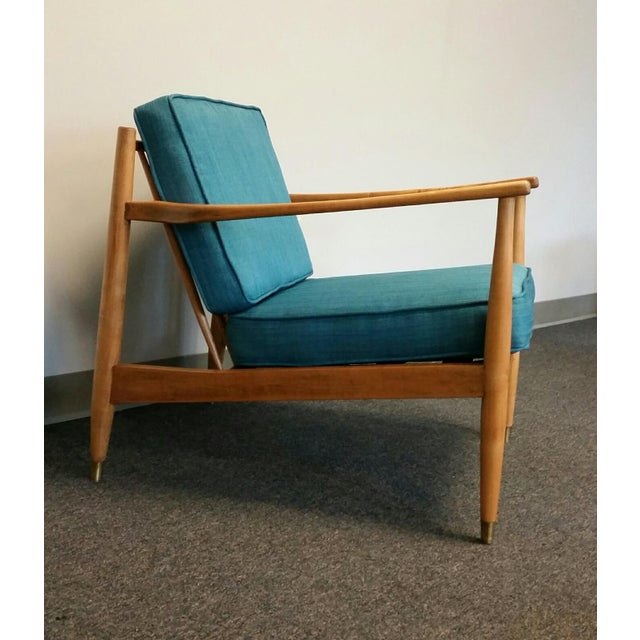 Baumritter Styled Mid-Century Lounge Chairs - Pair - Image 3 of 8
