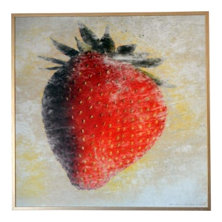 "2008 ""Strawberry"" Framed Photograph"