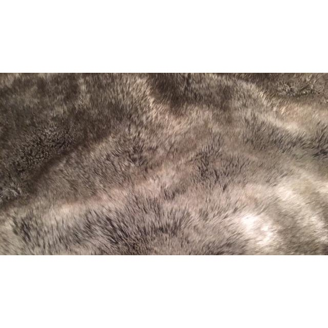 Restoration Hardware Faux Fur Pillow Covers - Pair - Image 4 of 4
