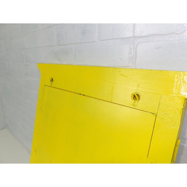 Yellow Window Pane Wall Mirror - Image 6 of 9