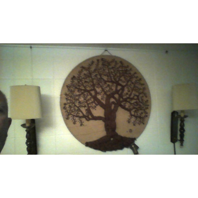 "Original ""Tree of Life"" Fiber Art by Dan Freedman - Image 4 of 8"