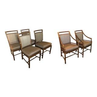 McGuire Rattan Chairs - Set of 6