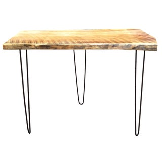 White Pine Table with Hairpin Legs