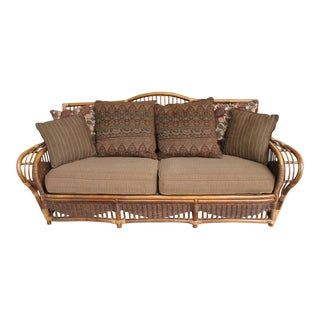 Henry Link Wicker Sofa