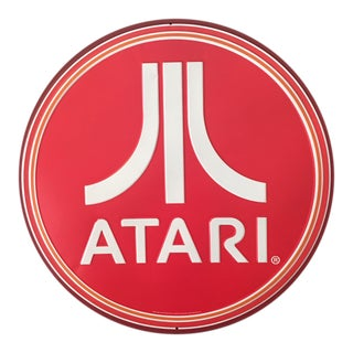 Retro Style Atari Tin Sign