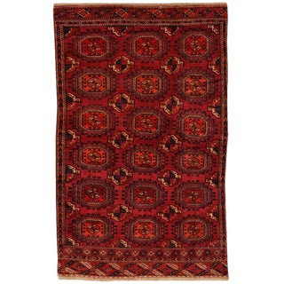Antique 19th Century Tekke Rug