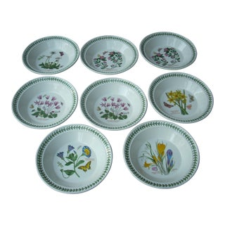 Portmeirion Floral Soup Bowls - Set of 8