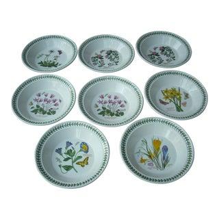 Portmeirion Floral Soup Bowls - Set of 8