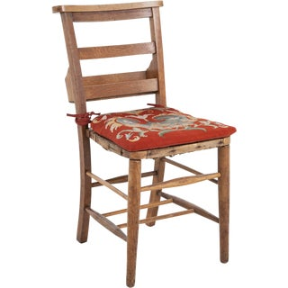 French School Chairs with Tapestry Cushions - Set of Four