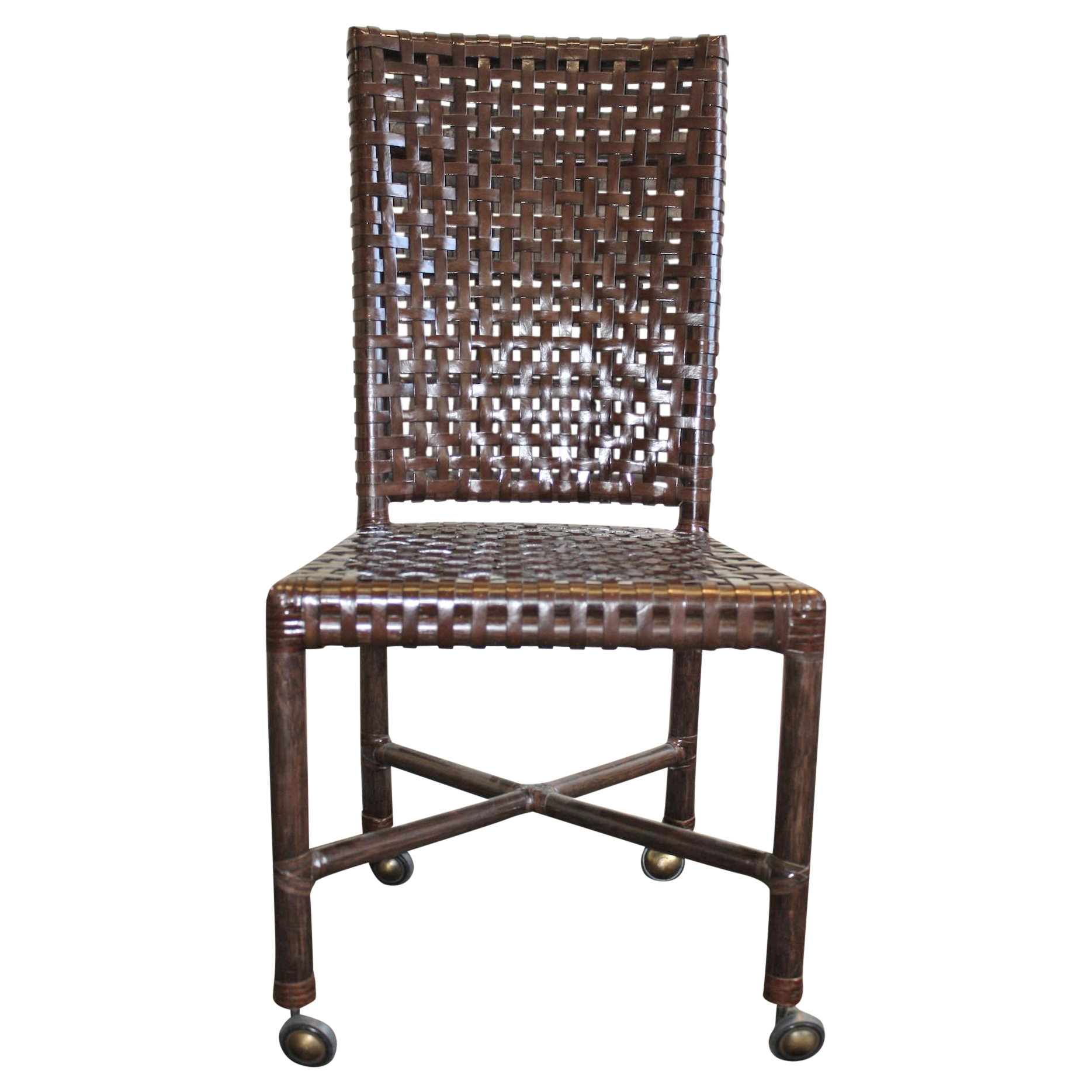 mcguire antalya side dining chair chairish