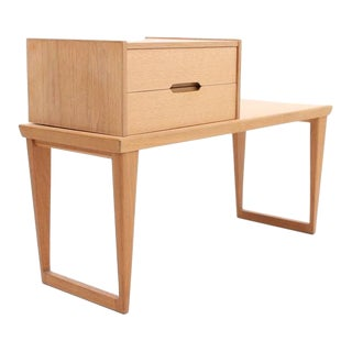 Aksel Kjersgaard for Odder Furniture Bench with Box Drawer in Oak