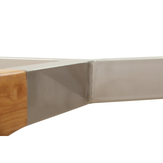 Image of Mid Century Modern Glass Table