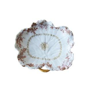 Limoges Floral Porcelain Dish