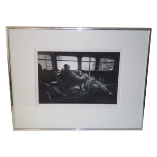 Vintage Black & White Signed Photograph