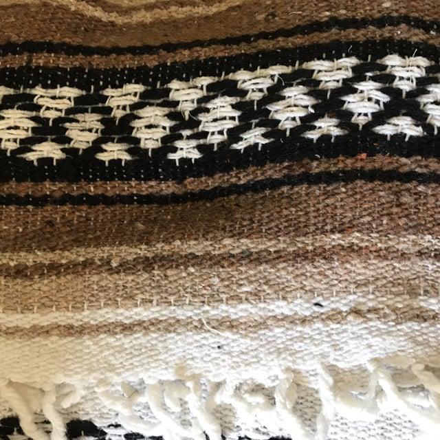 Mexican Boho Serape Blanket - Image 7 of 7