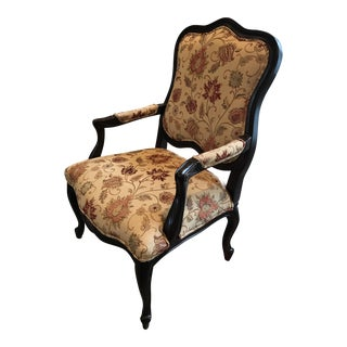 Basset Carved Fauteuil Chair