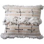 Image of Handira Pillow Sham with Cross Sequins