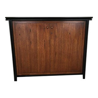 Century Two Toned Wood Motorized Cabinet