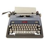Image of Mid-Century Blue Royal Futura 800 Typewriter