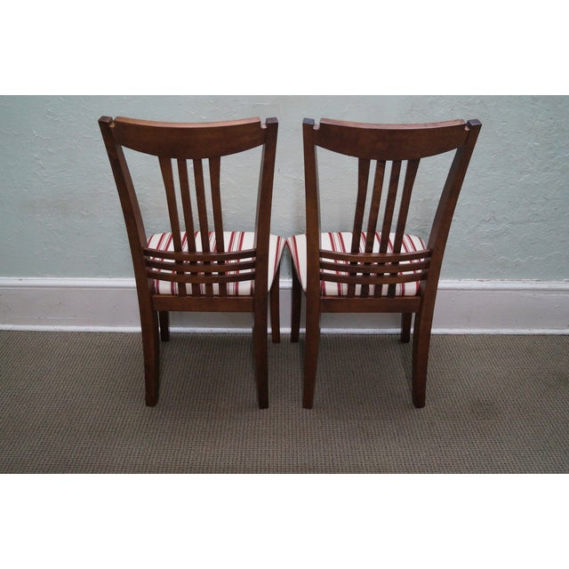 Bermex Traditional Maple Wood Dining Chairs - 6 - Image 4 of 10
