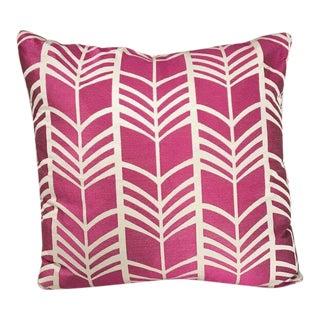 Kim Salmela Modern Fuchsia Pillow