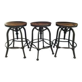 Adjustable Bar Stools - Set of 3