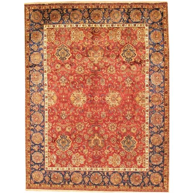 Pasargad Agra Oriental Silk & Wool Rug- 8'x10' - Image 1 of 2