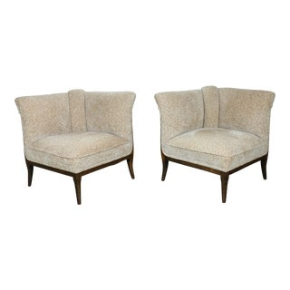 1930s Vintage Convertible Chairs - a Pair