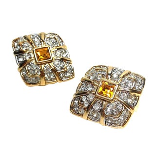Nina Ricci Clip Back Earrings