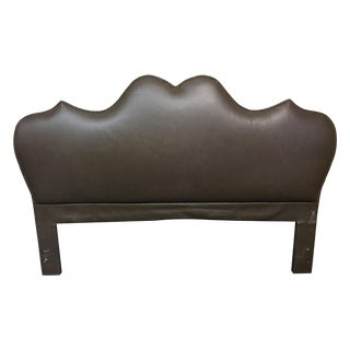 Eastern King Rustic Leather Headboard