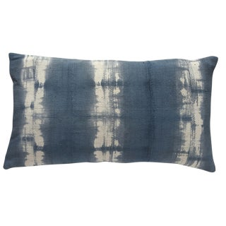 African Tie-Dye Mud Cloth Lumbar Pillow