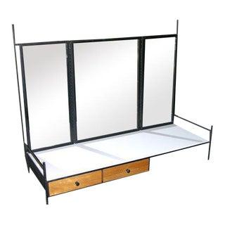 Paul McCobb Table Top Vanity Mirror